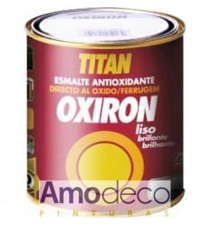 OXIRON LISO Esmalte Brillante directo sin imprimación TITAN