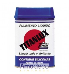 TITANLUX LIQUID POLISH Renews, cleans, polishes, brightens and protects.