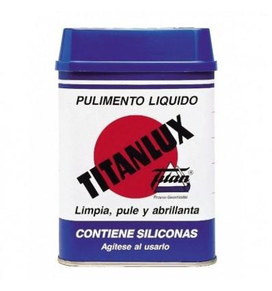 PRODUIT LIQUIDE POUR POLIR TITANLUX. Rénove, nettoie, polit, fait briller et protège.