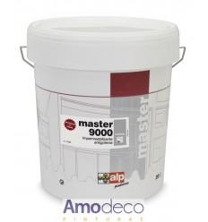 REVESTIMIENTO ELASTICO ANTIGOTERAS para la Impermeabilización de cubiertas reforzado con fibra MASTER 9000