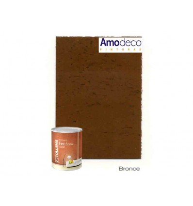 FER DECO Efecto decorativo de acabado Óxido para Interior TOLLENS