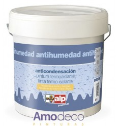 WATER-BASED MATT PAINT WITH ANTI-CONDENSATION, ANTI-MOULD AND TERMAL INSULATING FOR INTERIOR ALP
