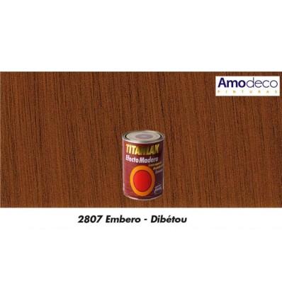 TITANLAK EFFET BOIS INTÉRIEUR-EXTÉRIEUR. Couleur, veinure et aspect de bois naturel. Lessivable