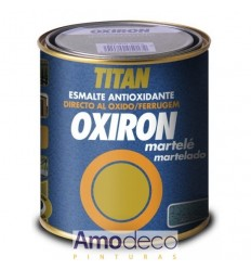 HAMMERED OXIRON. Indoors - Outdoors. Metallic. GLOSS