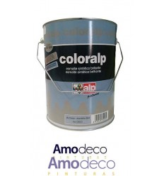 COLORALP ALUMINIUM HEAT-RESISTANT. Indoor-Outdoor Metallic Enamel with exceptional resistance to high temperatures of 200ºC