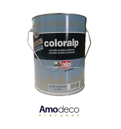 COLORALP ALUMINIUM HEAT-RESISTANT. Indoor-Outdoor Metallic Enamel with exceptional resistance to high temperatures of 200ºC