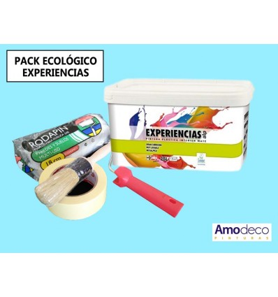 PACKAGE ECOLOGICAL PAINTING Interior Plastics VERY WASHABLE EXPERIENCES