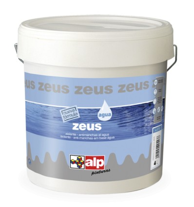 SMOOTH PAINT SPECIALLY FORMULATED WATER TO COVER THE SMOKE STAINS, NICOTINE, GREASE, ECT. HIGH COVERAGE ZEUS ALP