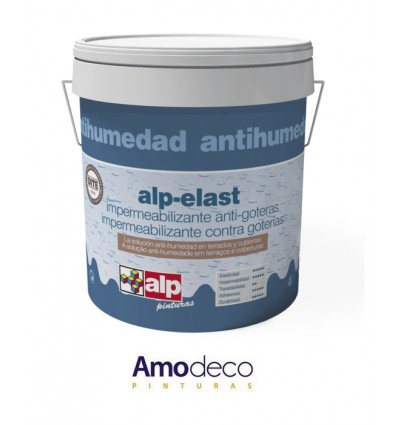 COATING WATERPROOFING ELASTIC, high quality UP TO 10 YEARS WARRANTY ALP ELAST COVERS. CERTIFIED PRODUCT