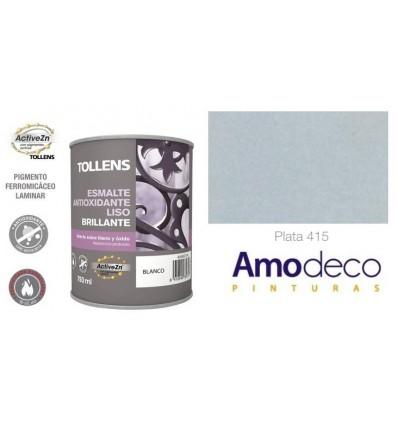 Esmalte Antioxidante Metalizado Liso Brillante