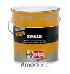 SOLVENT-BASED PAINT SMOOTH, ODORLESS, TO REMOVE STAINS FROM SMOKE, NICOTINE, GREASE, ETC. ZEUS ALP