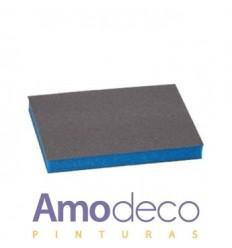 Almohadilla: Esponja plana de dos caras Abrasiva, Ideal para las zonas más difíciles