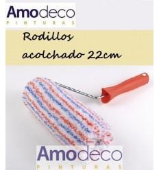 ROULEAUX Bi-Couleur 60 Rembourré Façades et revetements 22cm