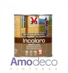 PROTECTOR DECORATIVO DE LA MADERA ANTI-UV HASTA 5 AÑOS V33 Satinado