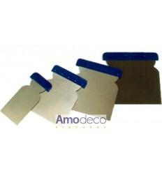 JUEGO ESPÁTULAS CARROCERO INOXIDABLES. KIT de 4 unidades de 50/80/100 y 120mm