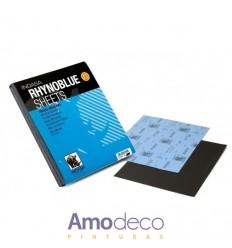 DRY SANDLE OF METALS. RHYNOBLUE SHEETS INDASA 230x280mm