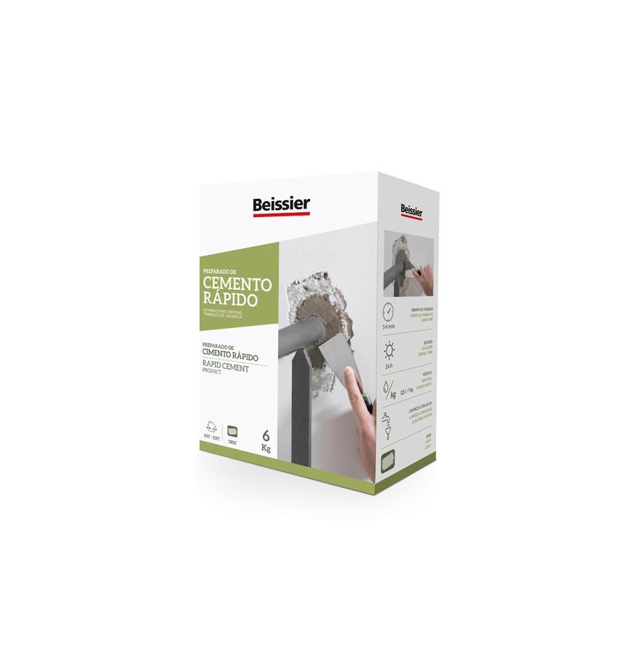Cemento Rápido Ideal Para Tapar Fugas De Agua Rápidamente Beissier