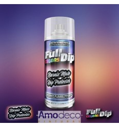 SPRAY MATTE VARNISH FULLDIP It can be applied on interior, exterior, rims, motorcycles, etc.