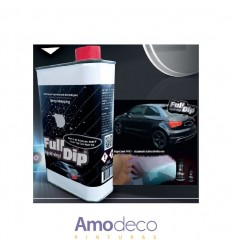 FULL DIP TOP COAT PRO (GLOS & MATTE) similar to a conventional paint gloss varnish, fuel resistant, anti scratch