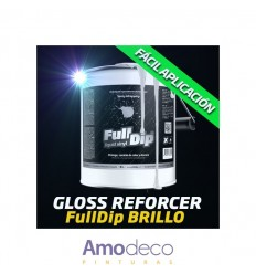 FULL DIP 4L. GLOSSIFIER (Gloss Reforcer) Product conceived to bring GLOSSY FINISHES to all Full Dip colors.