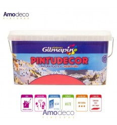 PINTUDECOR MONOLAYER IS A MATTE ACRYLIC PAINT FOR DECORATING WALLS AND CEILINGS, INSIDE AND OUTSIDE