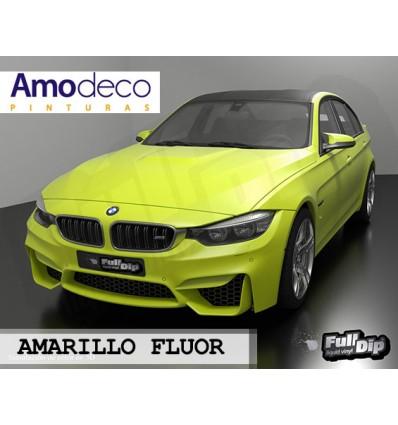 FULL DIP 4L FLUOR. Los colores neón o fluorescentes necesitan aplicar una base de FULLDIP BLANCO para conseguir luminosidad