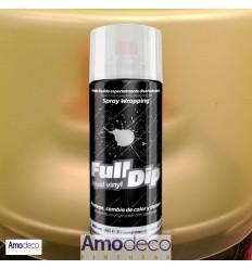 SPRAY FULL DIP VINILICO AHUMADO AMARILLO Especialmente recomendado para ahumar faros, o cualquier otra superficie