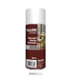 RENOVATOR OF VARNISHED FURNITURE revitalizes and cleans, disguises scratches and stains TOLLENS