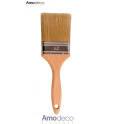 TRIPLE BRUSH. Ideal for synthetic enamels. Hand made by master craftsmen.