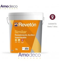 REVESTIMIENTO RUGOSO IMPERMEABLE ANTIMOHO SIMILAR REVETON
