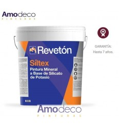 SÍLTEX Potassium silicate based paint. Mineral mate. REVETON