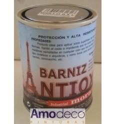 BARNIZ PARA METAL ANTIOXIDANTE SATINADO INCOLORO. Protege y mantiene el aspecto oxidado de los metales