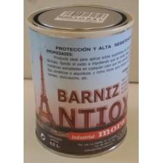 BARNIZ PARA METAL ANTIOXIDANTE MATE INCOLORO. Protege y mantiene el aspecto oxidado de los metales