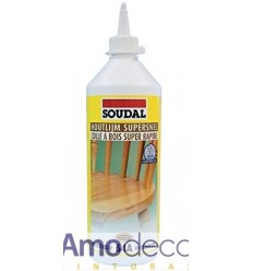 SUPER FAST WOODEN TAIL. DRYING IN 20 MINUTES FOR INTERIORS 64 A SOUDAL