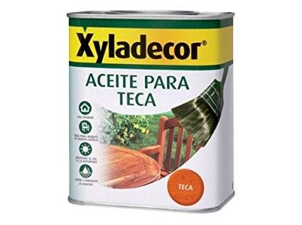 ACEITE TECA XYLADECOR PARA MADERAS EN EXTERIOR. IDEAL PARA RENOVAR ...