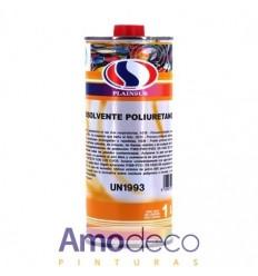 DISOLVENTE DE POLIURETANO PLAINSUR. Para la dilución de barnices, esmaltes y lacas de poliuretano.