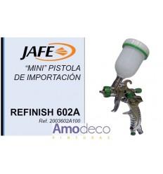 MINI PISTOLA HVLP REFINISH 602A PARA TRABAJOS DE RETOQUES Y DIFUMINADOS