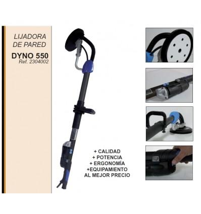 LIJADORA ELÉCTRICA DE PAREDES PROFESIONAL DYNO 550