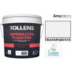 IMPRIMACION AL AGUA FIJADORA PAREDES INTERIOR-EXTERIOR para superficies de obra nueva o deteriorada TOLLENS