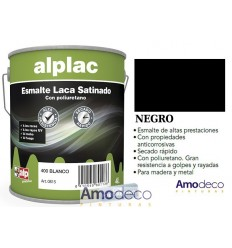 ENAMEL LACQUER SATIN Indoor-Outdoor ALP LAC Synthetic enamel Great resistance to wearing, scratching, soaps(Polyurethane)