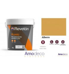 REVETON KONIC SMOOTH COATING PAINT FOR EXTERIOR 5 years of guarantee. Breathable