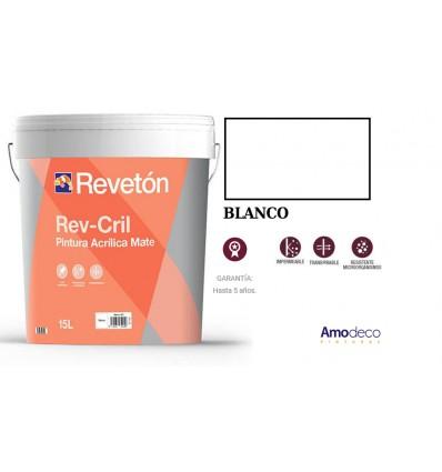 Revêtement acrylique haute lavabilité et coffre-fort intérieur-extérieur REV-CRIL LISSE REVETON