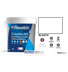 COTEFILM NG IS AN ULTRA ELASTIC SMOOTH ACRYLIC COATING. ANTI-FRACTURE. SELF-CLEANING REVETON