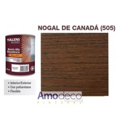 SYNTHETIC VARNISH STAIN FOR WOOD. INDOOR-OUTDOOR Wash resistant, elastic and tough. TOLLENS