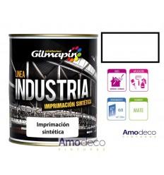 IMPRIMACION SINTETICA ANTIOXIDANTE DE SECADO RAPIDO BLANCA 5KG GILMAPIN