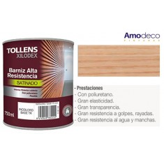ONE-COMPONENT POLYURETHANE VARNISH FOR WOOD. HIGH ELASTICITY, WEAR AND WASH RESISTANCE TOLLENS