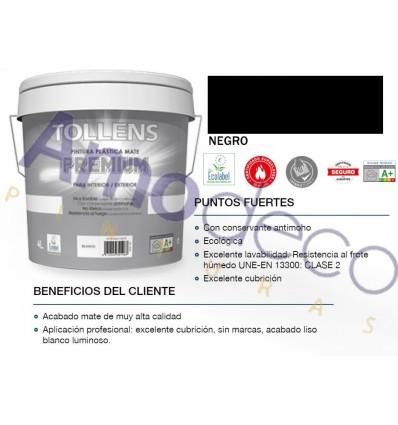 Plastique PREMIUM MATE peinture à l'intérieur-extérieur avec TOLLENS conservateur anti-moisissure