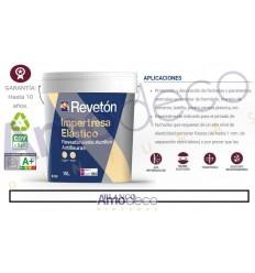 IMPERTRESA ELÁSTICO MATE REVETON. Revestimiento acrilico superelastico antifisuras de hasta 1mm
