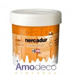 PINTURA PLASTICA MUY LAVABLE BLANCO LUMINOSO. Recomendada para acabados lisos de alta calidad. Interior-Exterior NERCADUR ALP