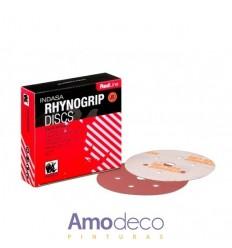 ABRASIVOS Indasa adhérence des disques de ponçage 150mm redline rhynogrip